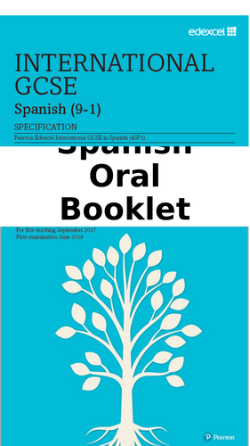 igcse oral booklet