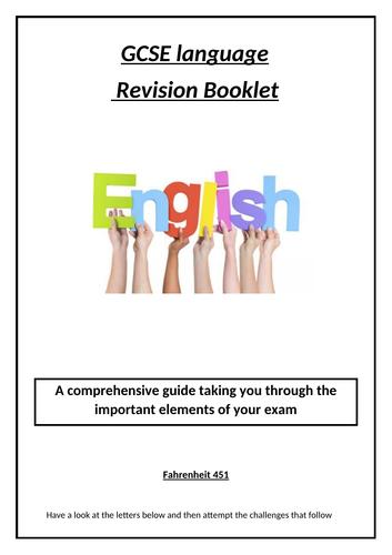 GCSE English Workbook
