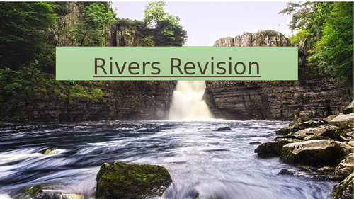 Rivers Revision with revision mat