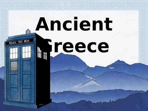 Ancient Greek Gods and Godesses Lesson (Year 3/4)