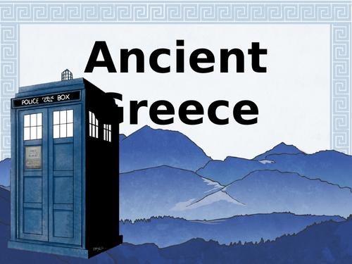 Ancient Greek Mythology Computing Lesson