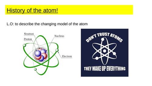 Edexcel GCSE Atomic History - Gd 5-9
