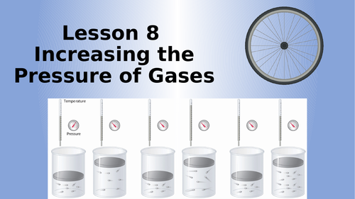 AQA Physics Increasing the Pressure of a Gas Lesson