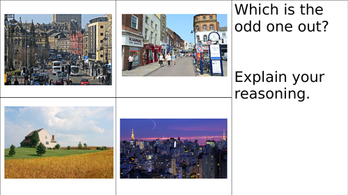 Geography -Local Area - Urban and Rural