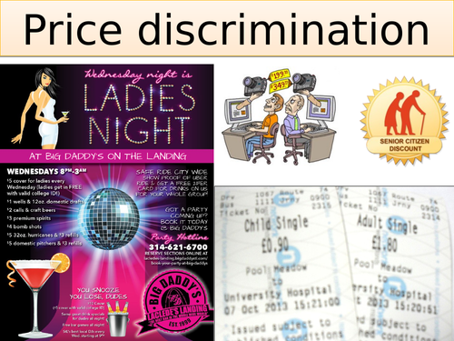 A-level Economics Price discrimination