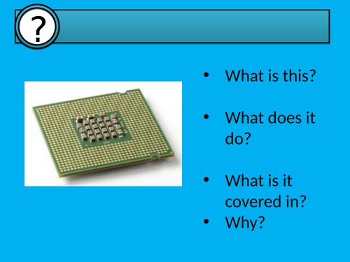 CPU's an introduction GCSE