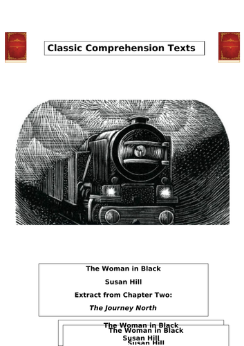 THE WOMAN IN BLACK. THE JOURNEY NORTH. READING COMPREHENSION. WITH ANSWERS.