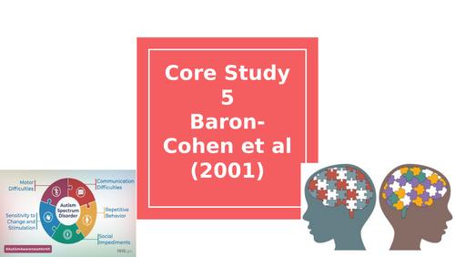 Baron-Cohen et al (2001)