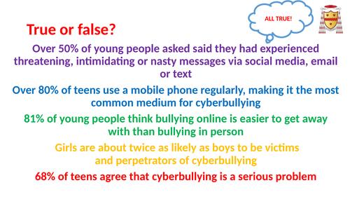 PSHCE: Online Bullying