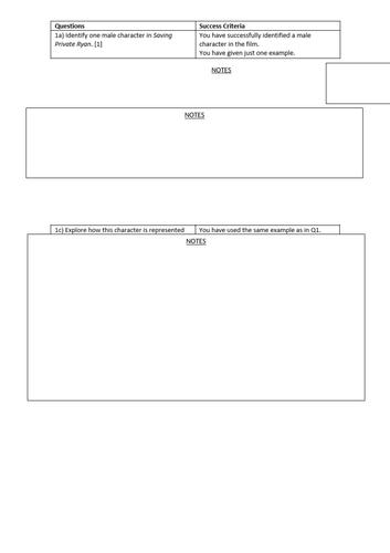 GCSE Film/Media Mise en scene lessons -12 PowerPoints and worksheets