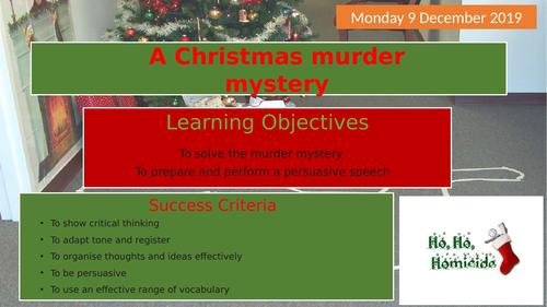 A Christmas Murder Mystery