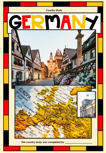 German Country Study / Cyberhunt