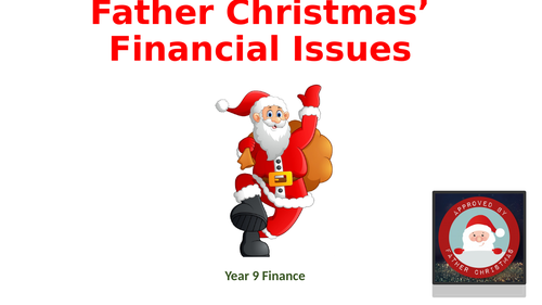 Father Christmas Financial Troubles