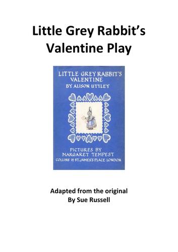 Little Grey Rabbit's Valentine Play