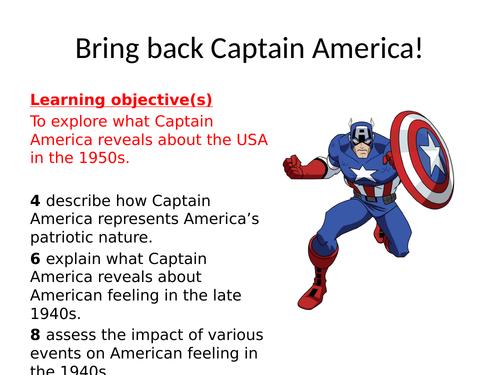 Bring back Captain America!