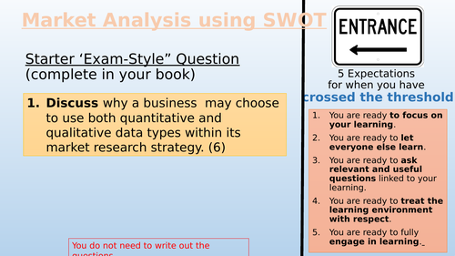 Introduction to Market Analysis