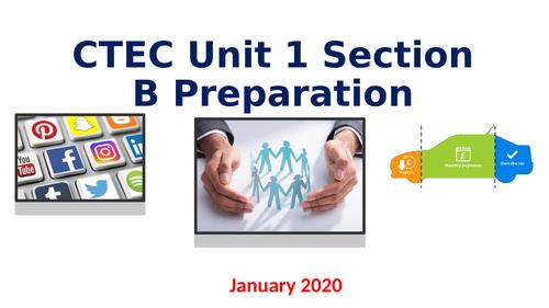 CTEC Business Unit 1 Preparation
