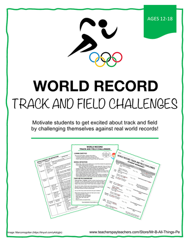 WORLD RECORD TRACK AND FIELD CHALLENGES