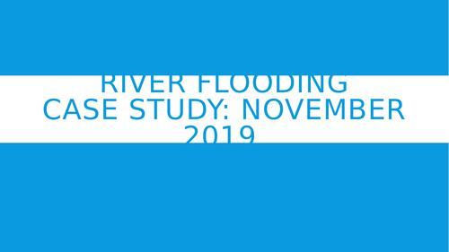 River Flooding November 2019