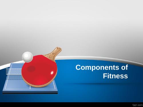 GCSE PE Components of Fitness