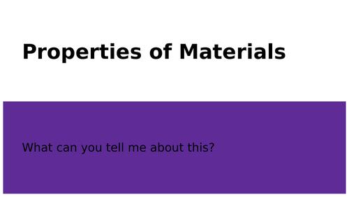 Properties of Materials Presentation