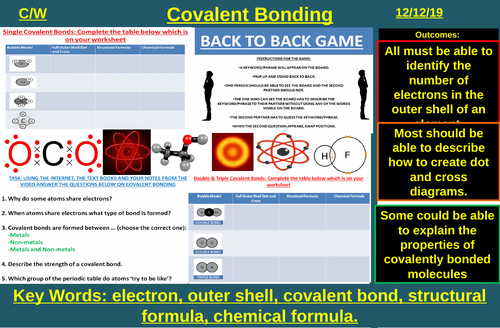 Covalent Bonding | AQA C1 4.2 | New Spec 9-1 (2018)
