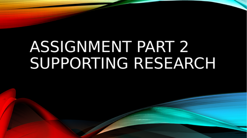 BTEC Unit 24: Sports Analysis Assignment 2 Support