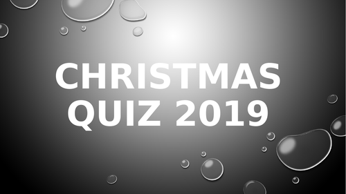 Christmas Quiz 2019 (40 Questions with Answers)