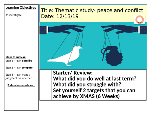 Peace and conflict -AQA
