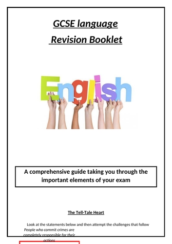 GCSE English Revision: A Tell Tale Heart