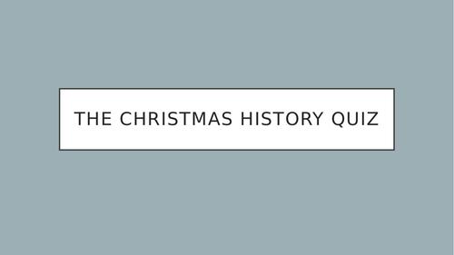 History Christmas Quiz