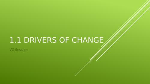 Cambridge Technical - Unit 15 Change Management