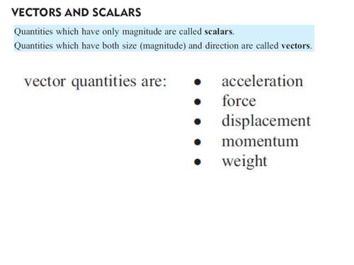Vectors 2D and 3D_Introduction