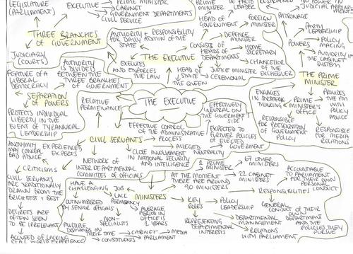 The Executive - Revision Notes