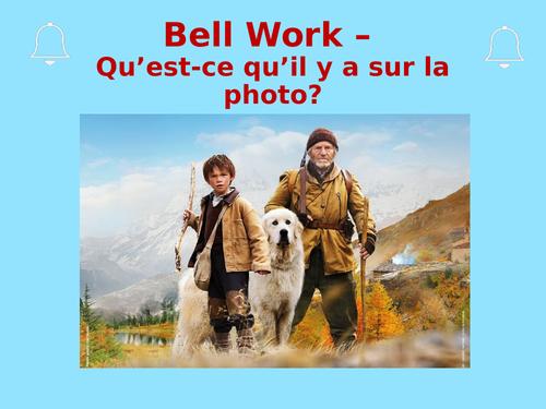 Belle et Sébastien set of lessons