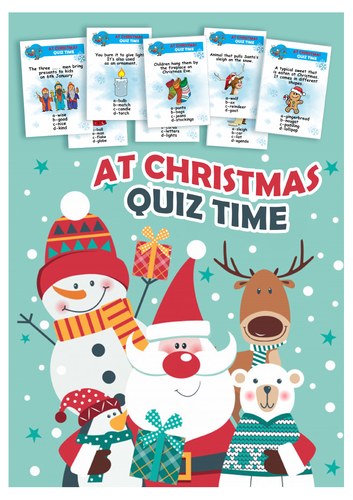 AT CHRISTMAS - QUIZ TIME