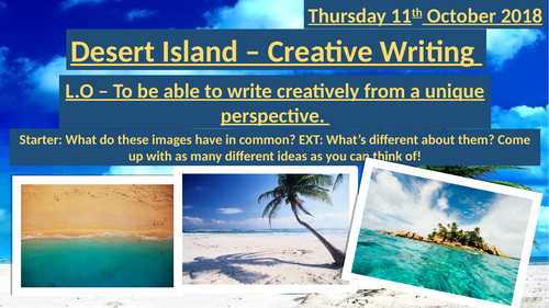 Creative Writing - Perspective