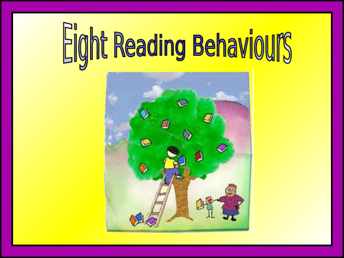 8 Reading Behaviour Powerpoint Pack
