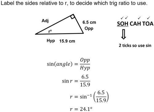GCSE Guide On Triangles and learn SOH CAH TOA