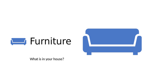 Furniture complete class ESL EAL