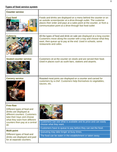 WJEC Hospitality and Catering - AC2.1 Factors to consider when proposing dishes