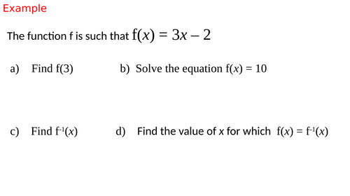 Mixed functions questions