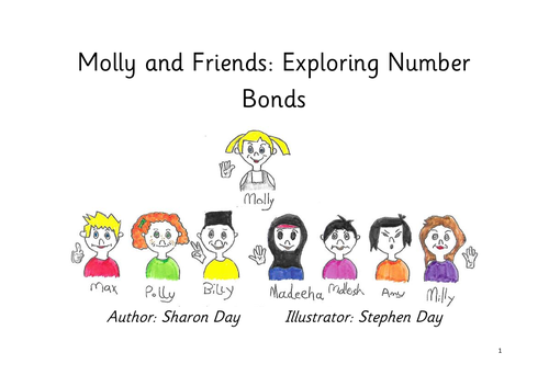 Molly's Maths for year 2 - exploring number bonds