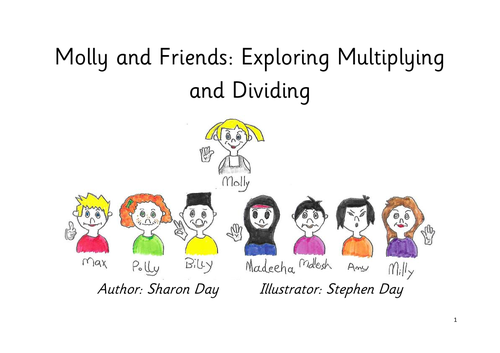 Molly's Maths for year 2 - exploring multiplication and division
