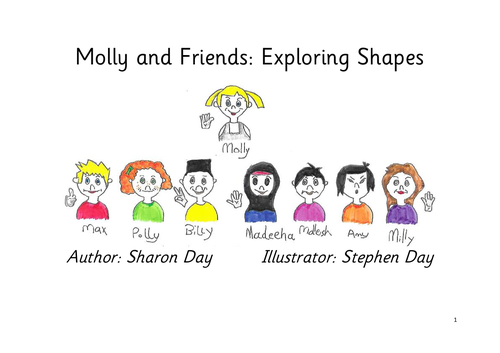 Molly's Maths for year 2 - exploring shapes