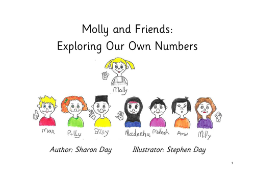 Molly's Maths in year 2 - exploring our own numbers