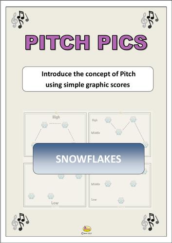 "Pitch Pics ""SNOWFLAKES"""