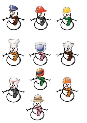 snowmen occupations