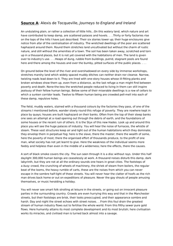 AQA GCSE Language Paper 2 mock exam - air pollution