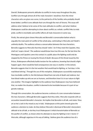 Biology essay standards